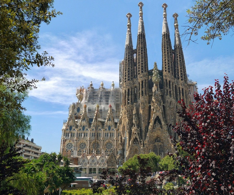 Sagrada Familia facciata natività