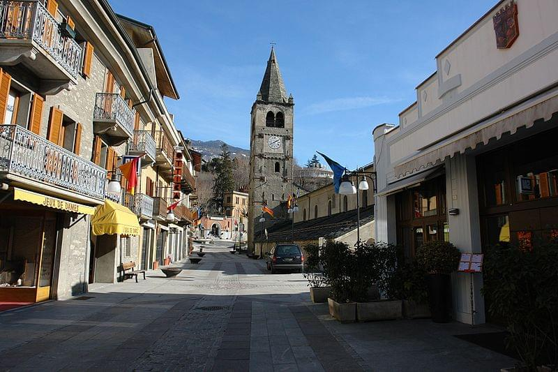 saint vincent aosta valley italy