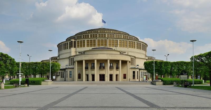 Sala del Centenario, Breslavia - Polonia