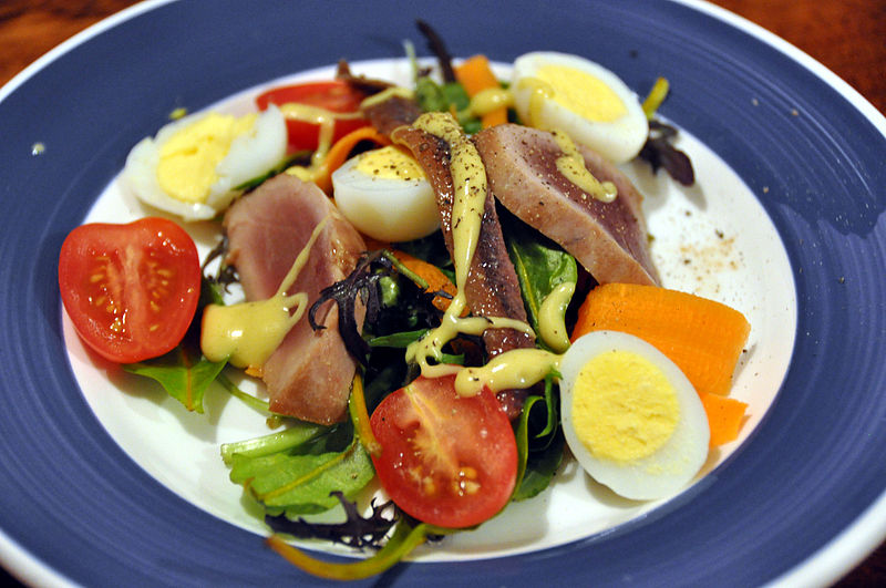 salade nicoise montecarlo