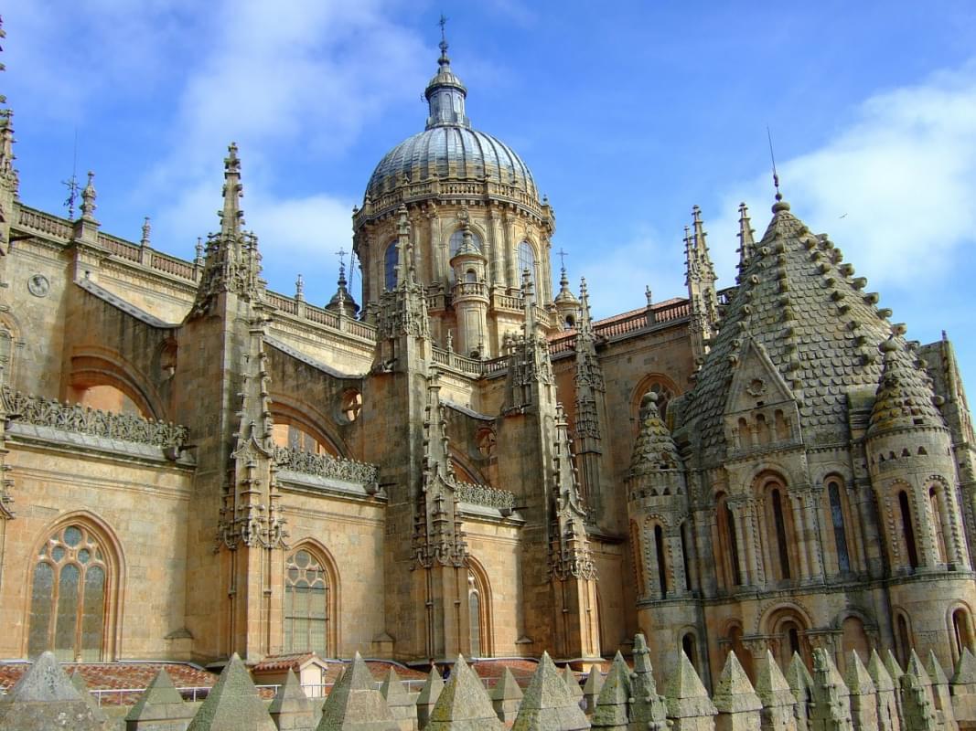 la suggestiva cattedrale vecchia di salamanca