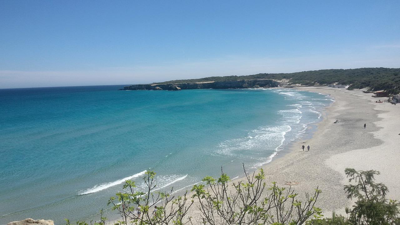 spiaggia e mare del Salento