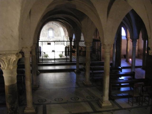 san miniato cripta