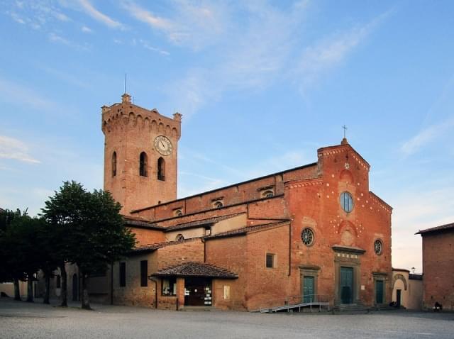 san miniato duomo facciata romanica