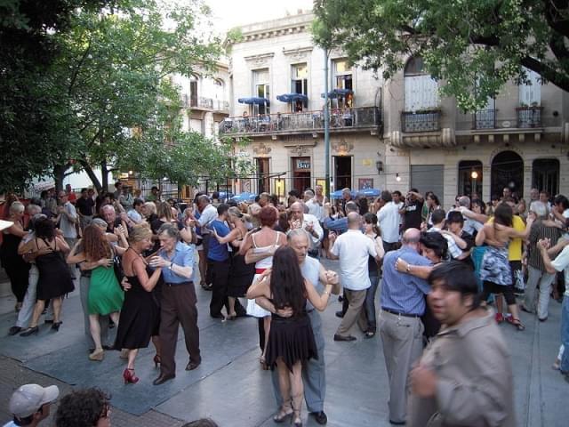san telmo plaza tango