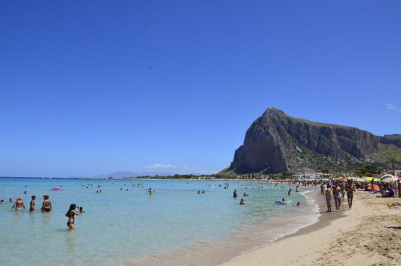 vista di San Vito lo Capo in Sicilia