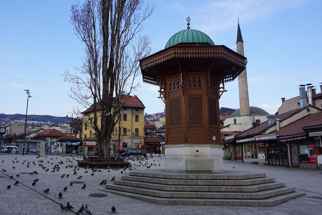 Sarajevo in Bosnia Erzegovina
