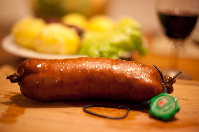 salsiccia e papet