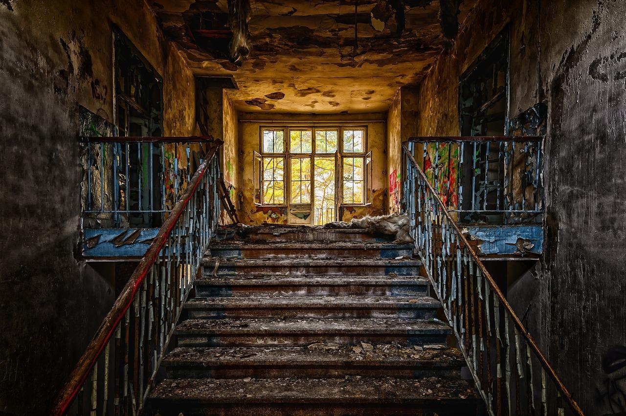 Ospedale in rovina