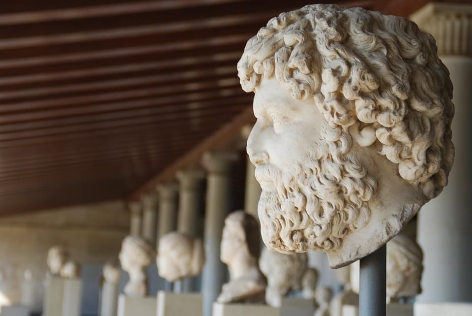 scultura greca atene