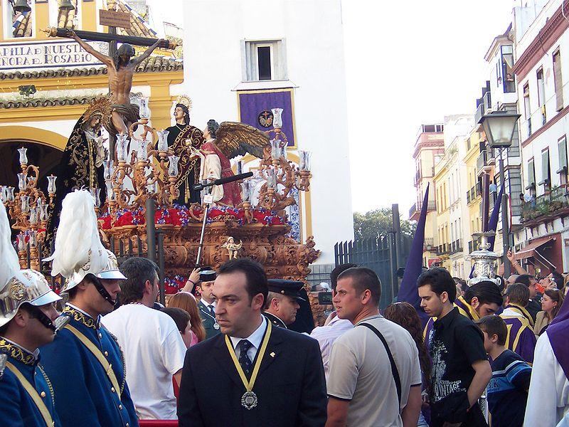 processioni per la semana santa a Siviglia
