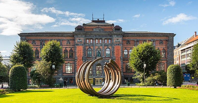 facciata del museo Kode di Bergen