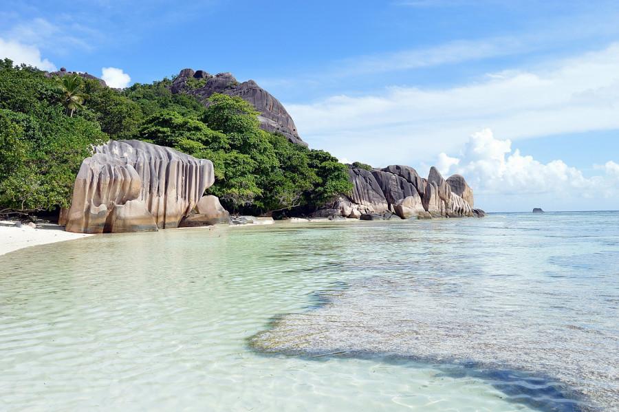 seychelles mare spiaggia acqua 1