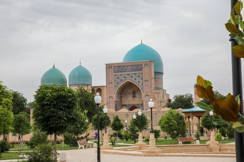 shakrishabz moschea kok gumbaz uzbekistan 1