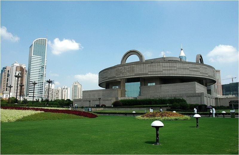 shanghai museum esterni