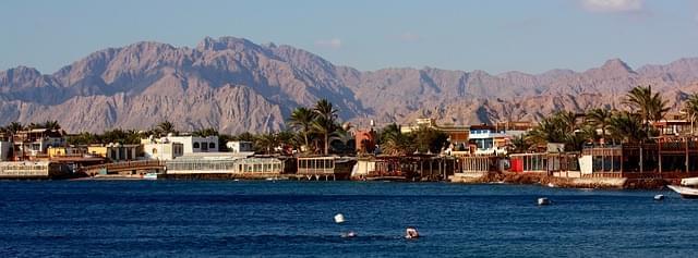 sharm el sheikh vista dal mare