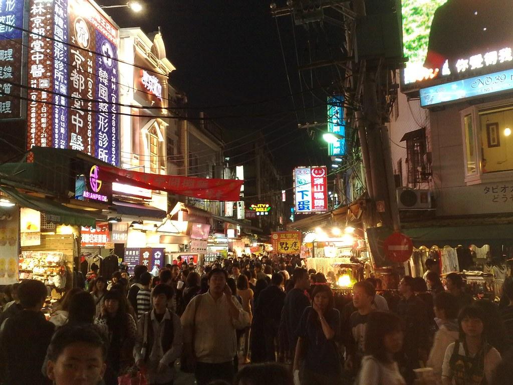 il caotico ma irresistibile mercato notturno di shilin