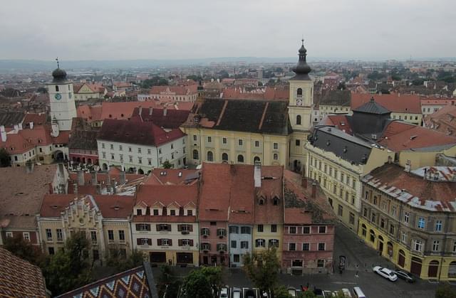 sibiu transylvania romania edifici 1