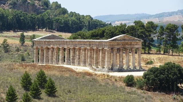 sicilia segesta tempio