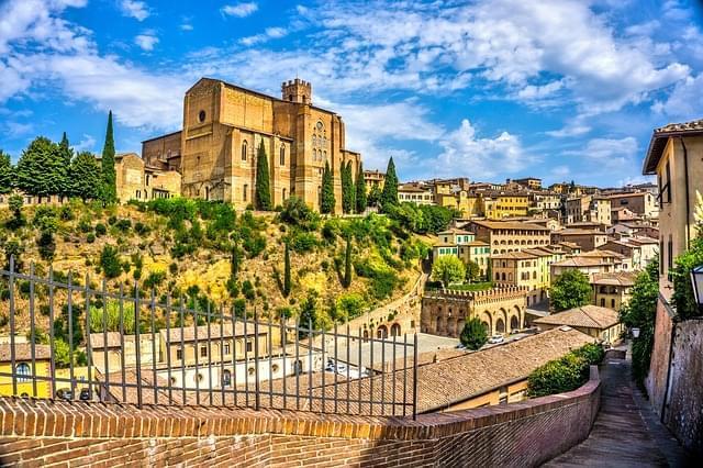 siena tuscany italia architettura 1