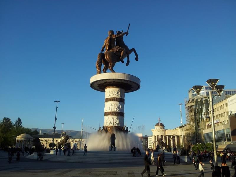 Skopje in Macedonia