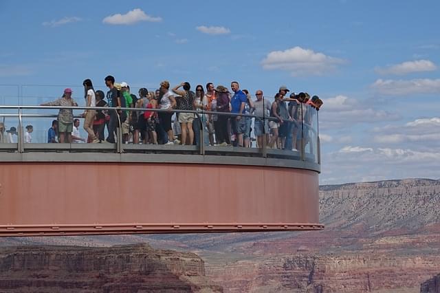 skywalk grand canyon orlo ad ovest