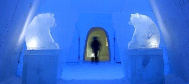 Snow Castle in Finlandia