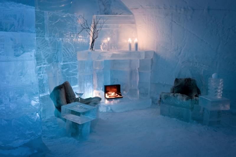 Snow Village in Finlandia