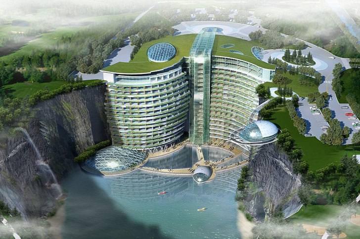 10 hotel pi curiosi del mondo for L hotel piu bello del mondo