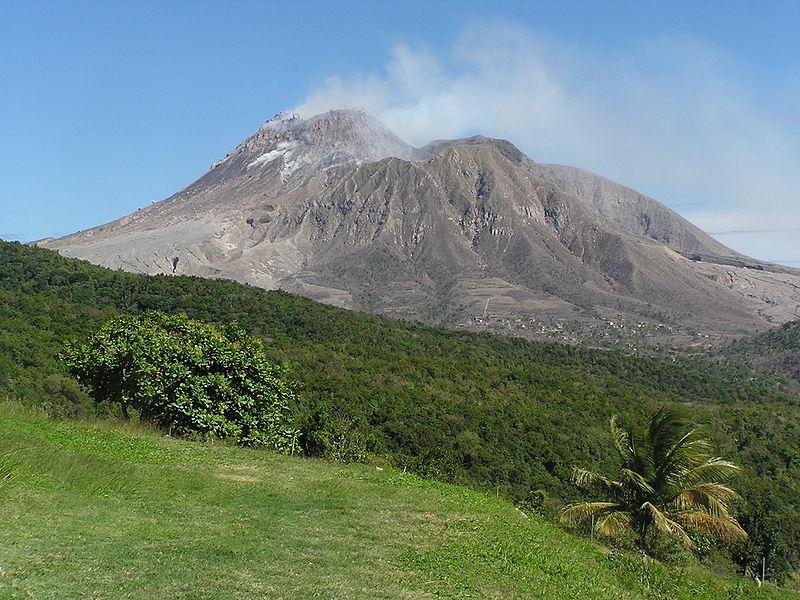 Attività vulcanica di Soufriére Hills