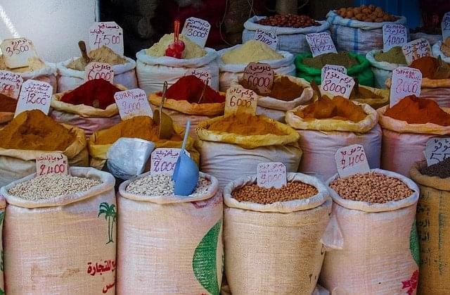spezie mercato cibo pepe red