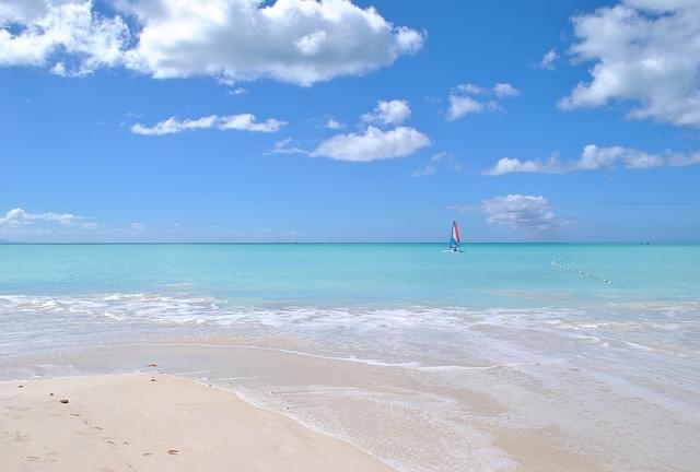 spiaggia ai caraibi