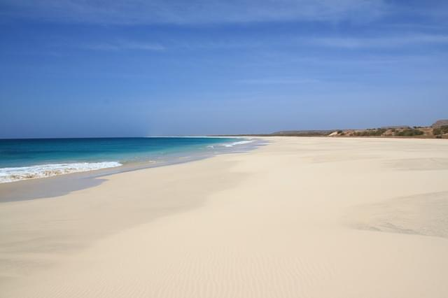 spiaggia di boa vista capo verde