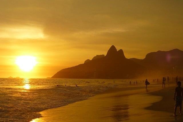 spiaggia di ipanema rio de janeiro 1