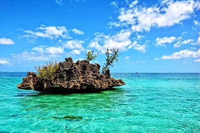 spiaggia in mauritius