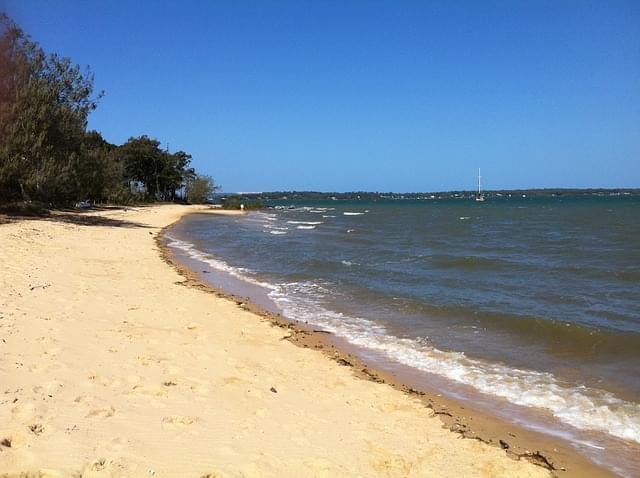 spiaggia incontaminata