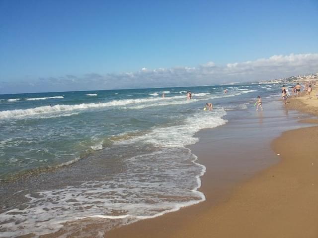 spiaggia playa castellammare del golfo