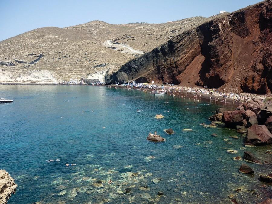 12 santorini red beach grecia