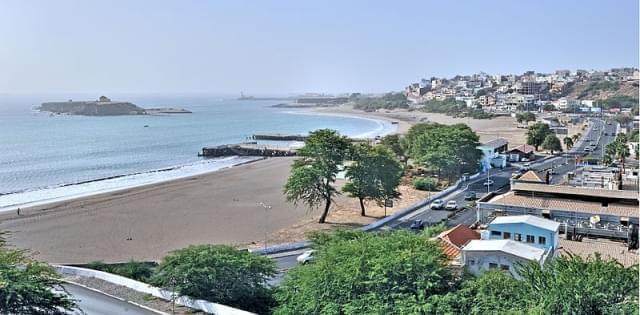 praia coast cape verde