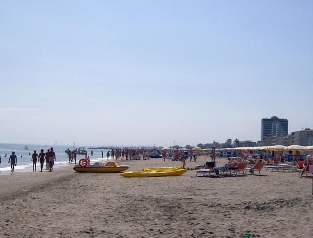 spiaggia verso cervia