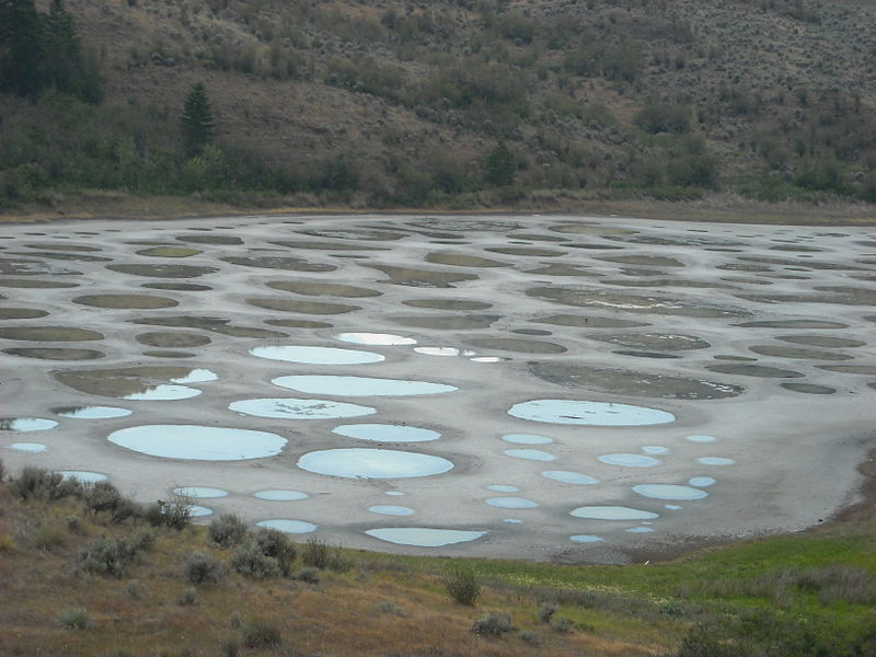 09 spotted lake in british columbia