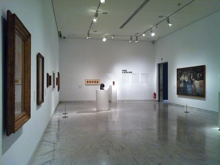 Stanza del Museo Picasso