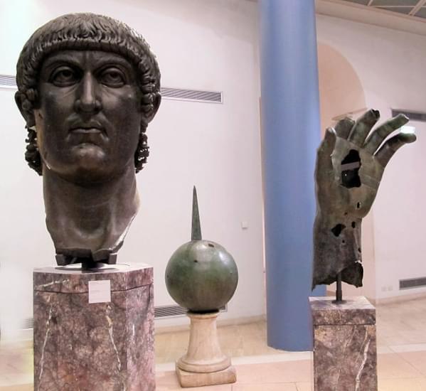 statua colossale di costantino