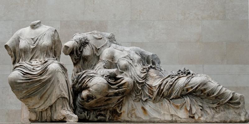 statue del partenone