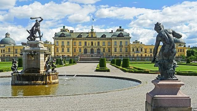 stoccolma castello di drottningholm