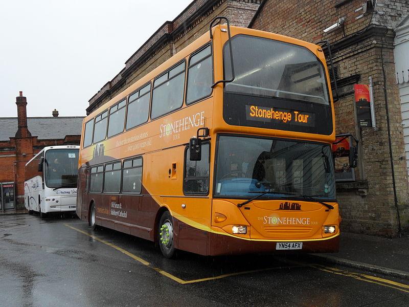 Bus per stonehenge