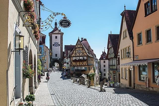 strada romantica germania