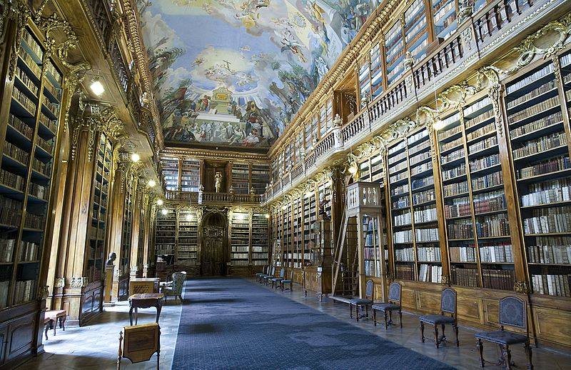 Biblioteca del Monastero Strahov di Praga