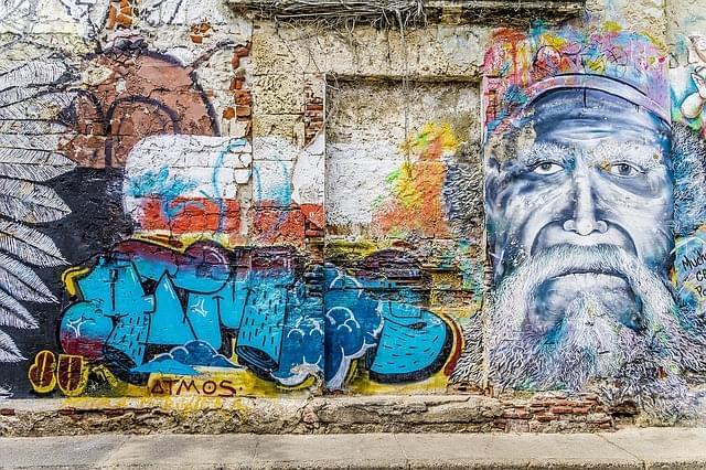 street art a cartagena