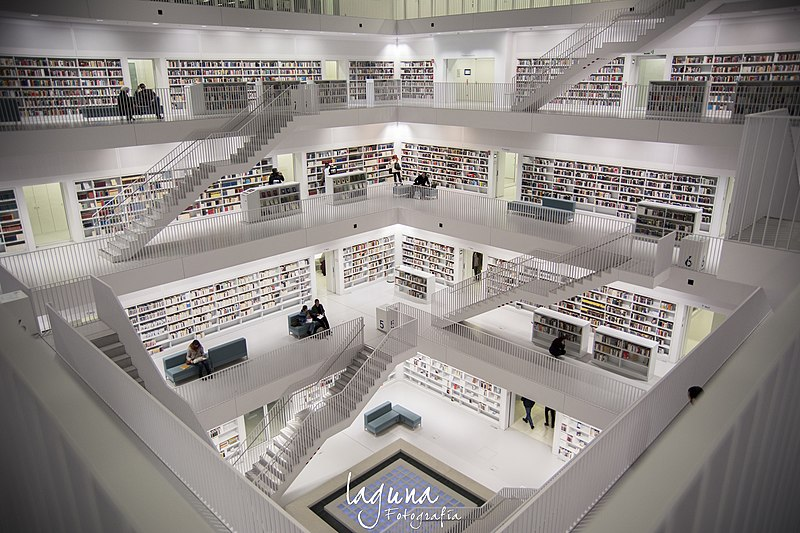 Biblioteca di Stoccarda, Germania